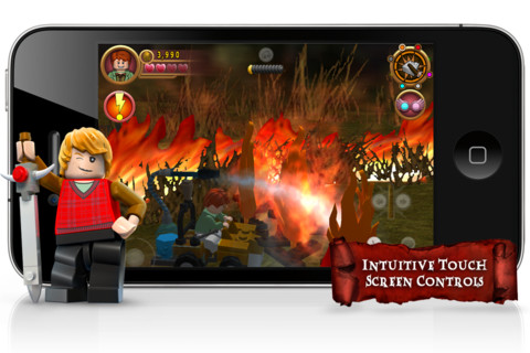 Lego Harry Potter iPhone App