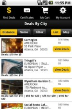 Restaurant.com App for iPhone and Android